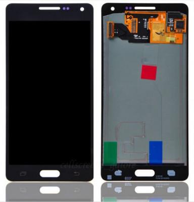 Display Samsung Galaxy A5 A500 2015 negru compatibil foto