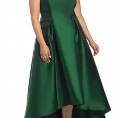 L608P-12 Rochie eleganta de seara plus size cu aspect satinat - Rochie de seara, Marime: XXL