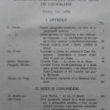 BULETINUL SOCIETATII REGALE ROMANE DE GEOGRAFIE 1923,CU HARTI SI ILUSTRATII,1938