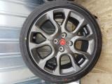 4 Roti complete Fiat Abarth 124 Spider jante + anvelope + senzori presiune, 17, 7
