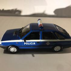 Macheta  Polonez Caro Radiowoz Politie  - Polonia scara 1:43