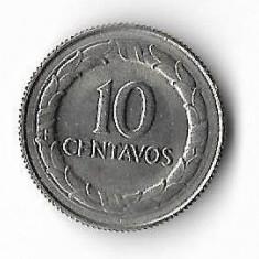 Moneda 10 centavos 1967 - Columbia, America Centrala si de Sud