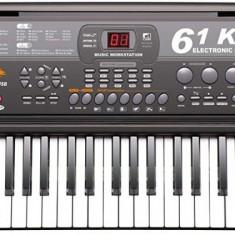 Orga electronica 61 de clape, USB, MP3, microfon, inregistrare, premium