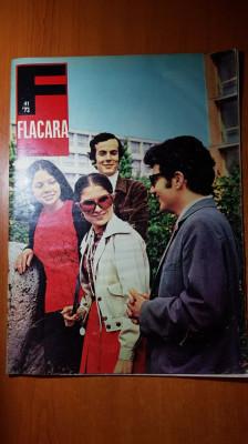 ziarul flacara 7 octombrie 1972-vizita lui ceausescu in cluj si art.orasul iasi foto