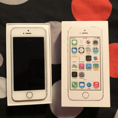 iPhone 5S Apple, Argintiu, 16GB, Neblocat