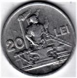 20 lei 1951  XF/a.UNC  RPR (7), Aluminiu