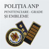 Grade Brodate Penitenciare ANP, Embleme Brodate si Petlite