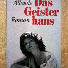 Isabel Allende - Das Geisterhaus - Carte in germana
