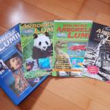 6 volume din Arborele lumii, 3 suplimente - diverse subiecte, istorie in imagini