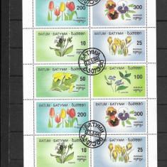 Batum 1994 bloc de 18 timbre - Timbre straine, Stampilat