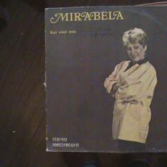 MIRABELA DAUER - Ești visul meu - Muzică ușoară - Disc pick-up vinil - Muzica Dance electrecord