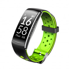 Bratara fitness Aipker Q8- ritm cardiac,tensiune arteriala,waterproof -black