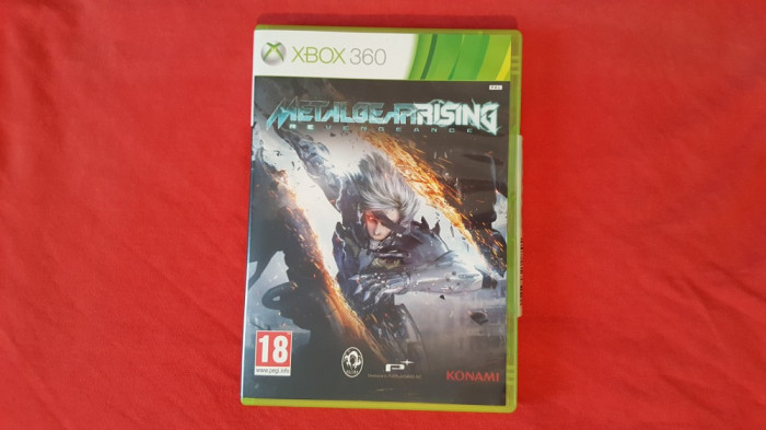 Joc Xbox 360 Metal Gear Rising Revengeance