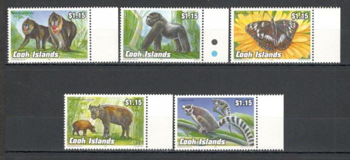 Cook Islands.1993 Animale pe cale de disparitie  DC.390 foto mare