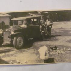 PVM - Foto veche masina de epoca / deosebita - Fotografie, Alb-Negru