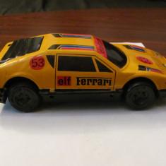 PVM - Masinuta masina veche tabla FERRARI model mai rar - Jucarie de colectie