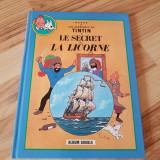 Tintin, album dublu: Le secret de la Licorne + Le tresor de Rackham le rouge