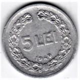 5 lei 1949   VF+   RPR (15), Aluminiu