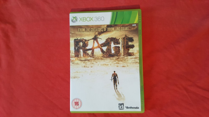 Joc Xbox 360 Rage foto mare