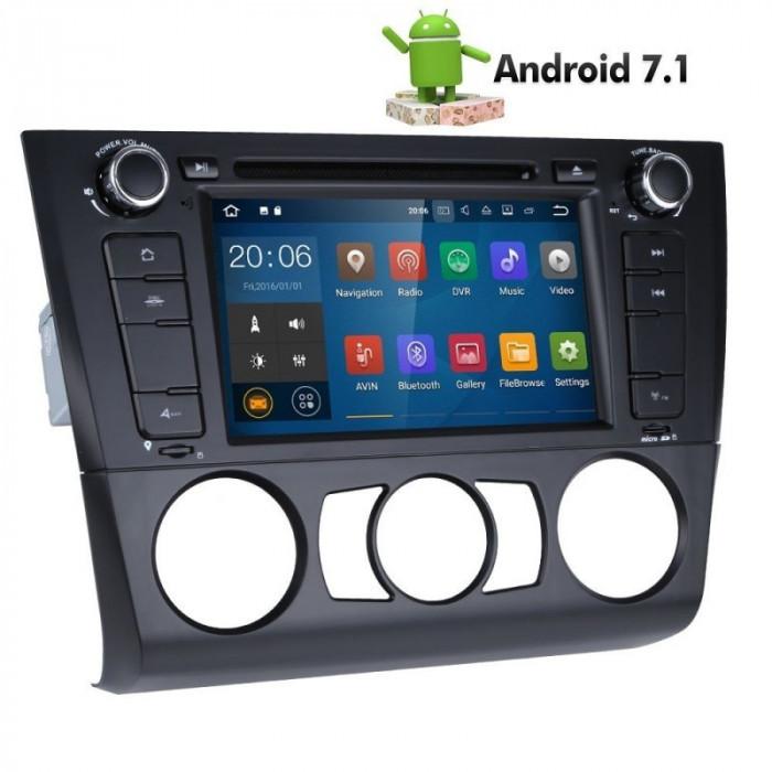 Navigatie Dedicata BMW Seria 1 E81 E82 E88 2004 2011 Android 2G RAM WIFI foto mare