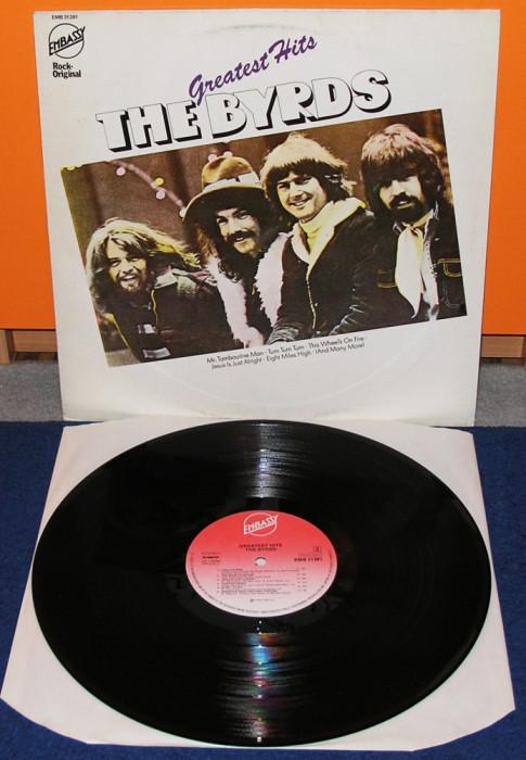 The Byrds - Greatest Hits, HOL, VG+, disc vinyl vinil foto mare
