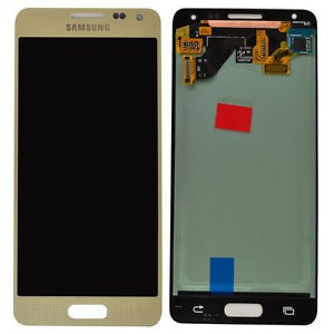 Display Complet Samsung Galaxy Alpha SM-G850F | Gold foto mare
