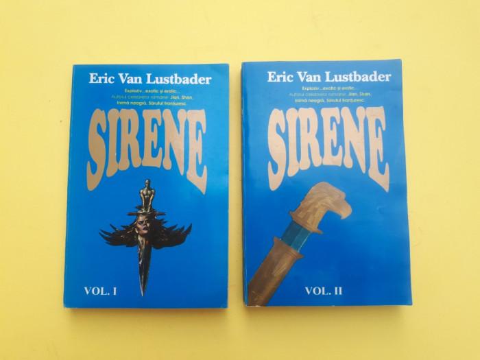 SIRENE = ERIC VAN LUSTBADER = 2 VOLUME foto mare