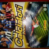 CALCIATORI 2009-'10 Album gol + full colecție  stickere + full transferuri
