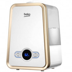 Umidificator Beko ATH7120 250ml/h 3.75 litri afisaj digital Alb Auriu - Umidificator aer