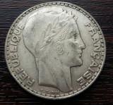 (A123) MONEDA DIN ARGINT FRANTA - 20 FRANCS 1933, 20 GRAME, Europa