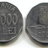 Moneda 5000 lei 2002