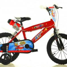 Bicicleta DINO BIKES - Super Wings 414U SW - Bicicleta copii