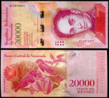 VENEZUELA 20000 bolivares 2016 - 2017 - UNC