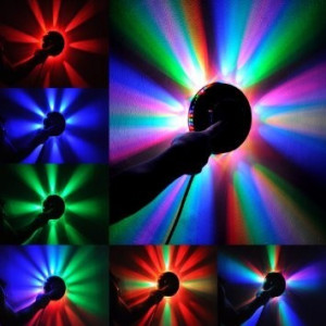 Lumini Disco - Sistem Lumini Petrecere 48 Leduri RGB