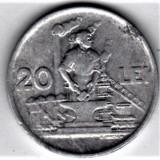 20 lei 1951   XF/a.UNC  RPR (10), Aluminiu