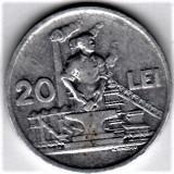 20 lei 1951  a.UNC/UNC  RPR (4), Aluminiu