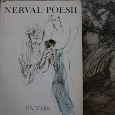 Nerval - Poezii - traducere Leonid Dimov - Carte poezie