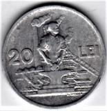 20 lei 1951   VF+  RPR (15), Aluminiu