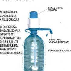 Pompa Manuala De Apa Pentru Bidoanele De 3L , 5L , 8L , 10L