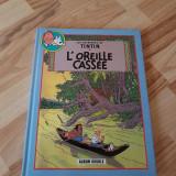 Tintin, album dublu: L'oreille cassee + Coke en stock
