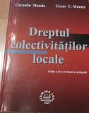 Dreptul colectivitatilor locale de Corneliu si Cezar Manda