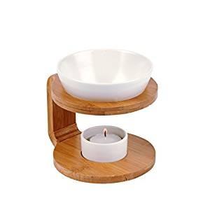 Suport lemn pentru ulei aromaterapia, Pajoma foto