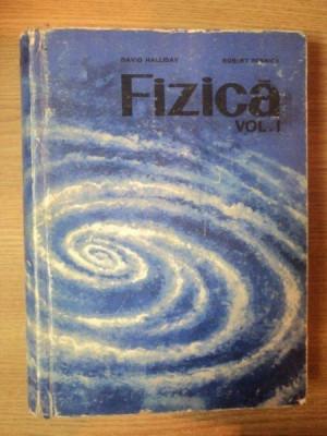 FIZICA VOL I de DAVID HALLIDAY , ROBERT RESNICK , 1975 foto