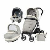 Carucior 3 in 1 Book Plus 51 Black&White POP-UP Elite Luxe Opal, Peg Perego
