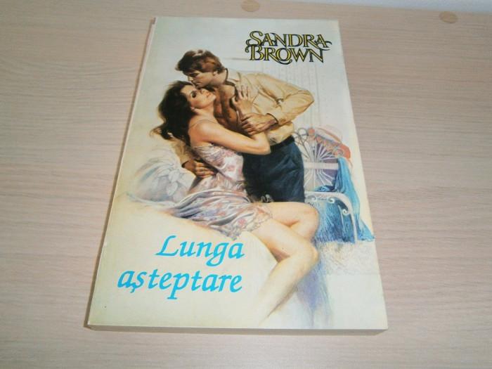 Sandra Brown-Lunga asteptare, editura Miron 1994, noua! foto mare