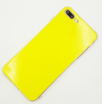 Husa TPU Mirror Samsung Galaxy S7 Edge YELLOW foto mare