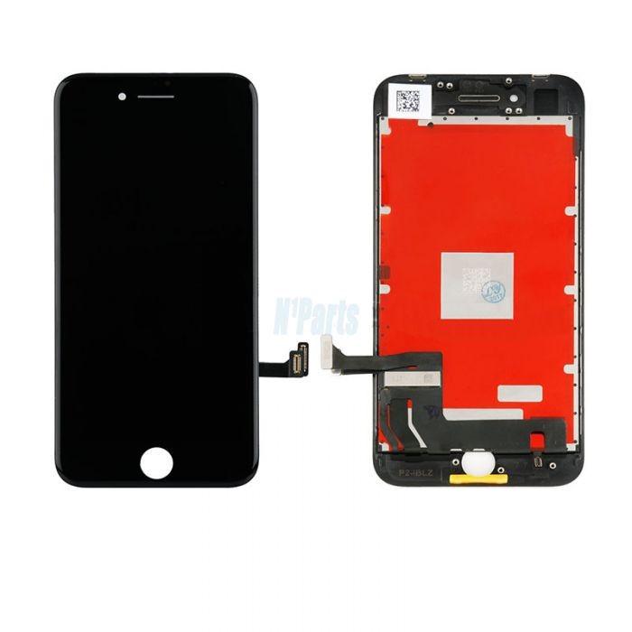 Display Iphone 8 lcd touchscreen complet negru / alb + folie sticla