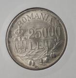 25000 lei 1946 Varianta cu fum