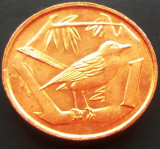 Moneda EXOTICA 1 CENT - INSULELE CAYMAN, anul 1972   *cod 3321 = PERFECT UNC!
