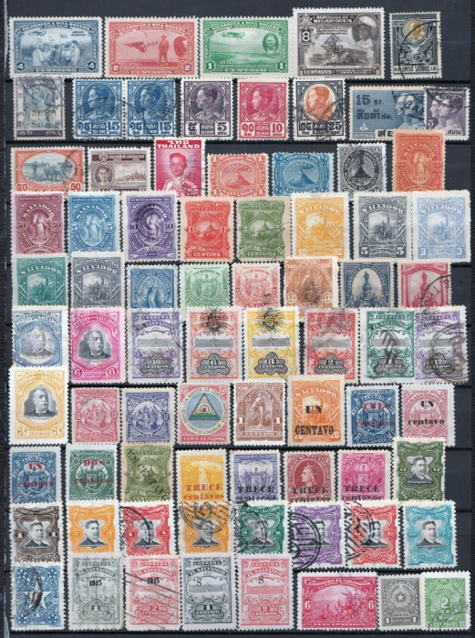 Lot timbre vechi foto mare